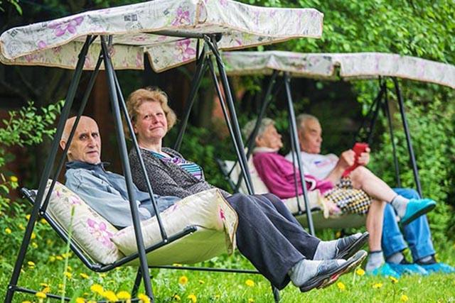 Медынский интернат для престарелых